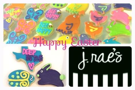Happy Easter Weekend // J. Rae's bakery review
