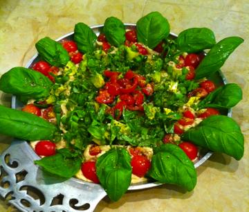 Herb Garden Hummus Dip