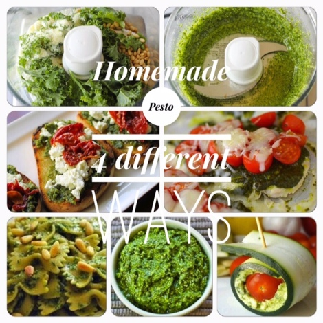 Homemade Pesto // 4 Different Ways