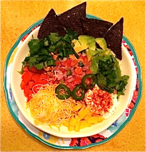Tex Mex Tuesday: Turkey Taco Salad